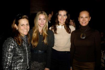 Alexandra Lebenthal, Alexandra Lind Rose, Jennifer Creel, Valesca Guerrand-Hermes