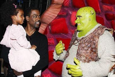 Chris Rock. And Shrek.