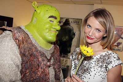Cameron Diaz. And Shrek.