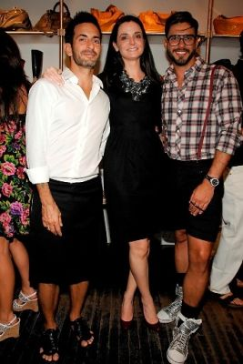 Marc Jacobs, Annie Churchill, Lorenzo Martone