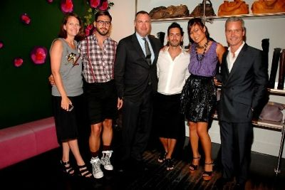 Kate Waters, Lorenzo Martone, Edward Menicheschi, Marc Jacobs, SunHee Grinnell, Dennis Keogh
