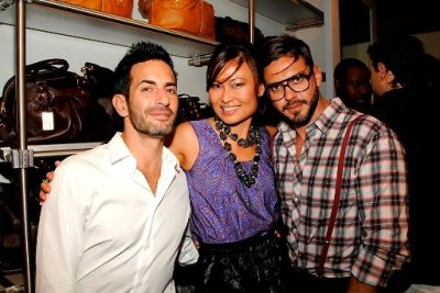 Marc Jacobs, SunHee Grinnell, Lorenzo Martone