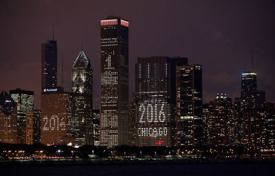 Photo Of The Day: Chicago Sets Eyes On 2016 Olympics. The World Awaits....