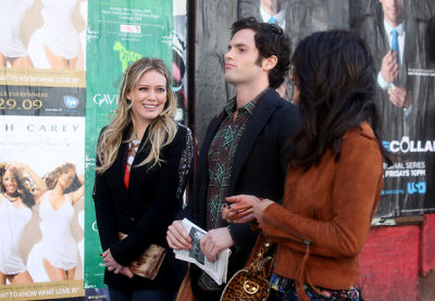 Hilary Duff, Penn Badgley, Jessica Szohr