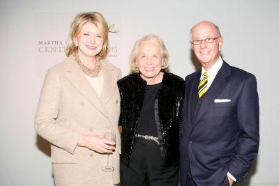 Martha Stewart, Liz Smith, Charles Koppelman