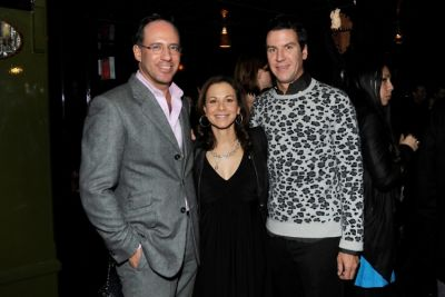 Andrew Saffir, Bettina Zilkha, Peter Davis
