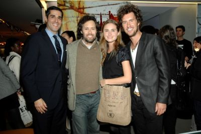 Jim Gold, David Lauren, Lauren Bush, Blake Mycoskie