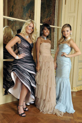 Lady Kitty Spencer, Autumn Whitaker, Francesca Eastwood