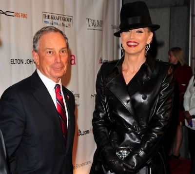 Michael Bloomberg, Sharon Stone