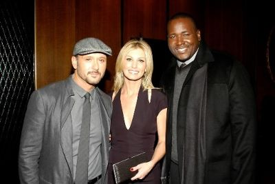 Tim McGraw, Faith Hill, Quinton Aaron