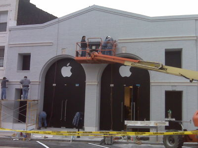 Greenwich Screen Time: Movie Theater Makes Way For Apple Store
