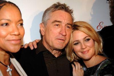 Grace Hightower De Niro, Robert De Niro, Drew Barrymore