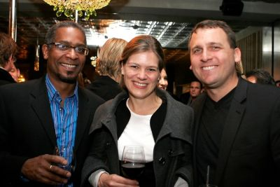 Hugo Redwood, Barbara Romer, Jeff Karish