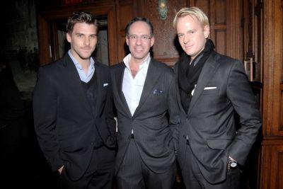 Johannes Huebl, Andrew Saffir, Daniel Benedict