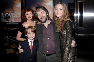 Susan Sarandon, Christian Ashdale, Peter Jackson, Saoirse Ronan