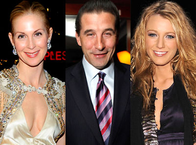 Kelly Rutherford, Billy Baldwin, Blake Lively