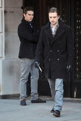 Chace Crawford, Sebastian Stan