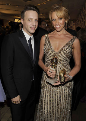Ariel Foxman and Toni Collette