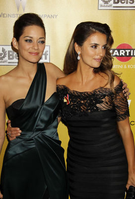Marion Cotillard and Penelope Cruz