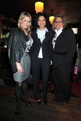 Patricia Duff, Michelle Paterson, Fern Mallis