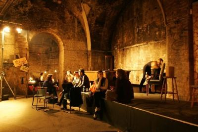 A Peek At London's Exciting, Terrifying Shunt Vaults