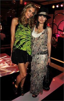 Kim Hersov and Daisy Bates