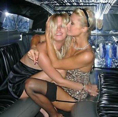 Nicky and Paris Hilton
