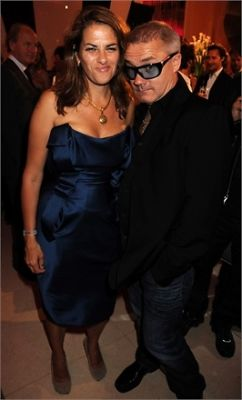 Tracey Emin and Damien Hirst