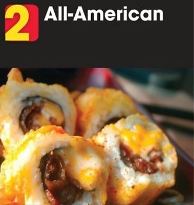 Food Trucks Reach A New Low With The Cheeseburger Sushi Roll
