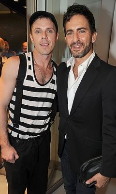 Jake Shears and Marc Jacobs