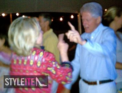Bill Clinton Boogies In The Hamptons Till 6AM!