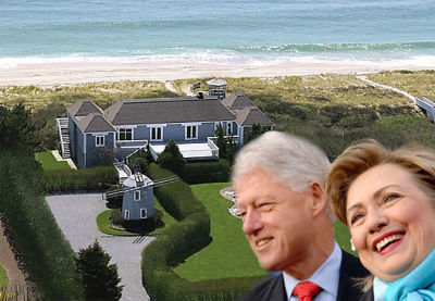 Are The Clintons Lampin' In The Hamptons?