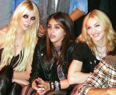 Taylor Momsen, Lordes Leon, Madonna