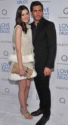 Jake Gyllenhaal & Anne Hathaway: Love & Other Drugs Screening, After-party
