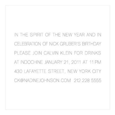 68-Year-Old Calvin Klein Requests the Pleasure Of Your Company For His Boyfriend's 21st Birthday