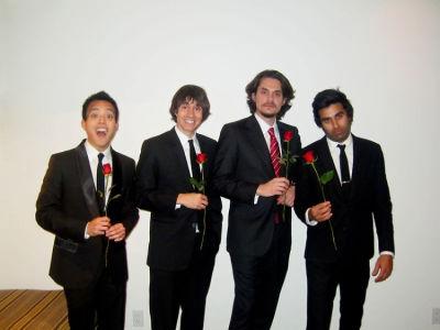 Alan, Ricky Van Veen, John Mayer, Neel Shah
