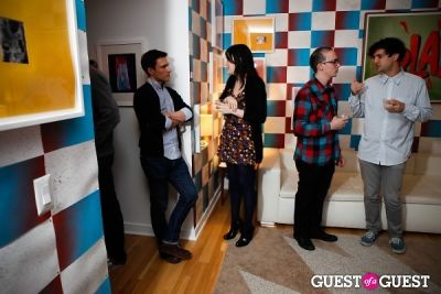 The Blue Box Gallery And The Artist Toolbox Both Bring Colorful Crowd Out To Celebrate