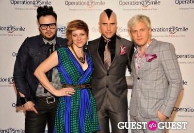 Musicians Branden Campebell, Elaine Bradley, Tyler Glenn and Chris Allen of the Neon Trees