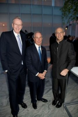Donald Marron, Mayor Bloomberg, Glenn Lowry