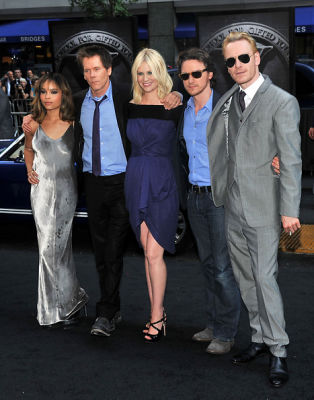 Kevin Bacon, Zoe Kravitz, January Jones, James McAvoy, Michael Fassbender
