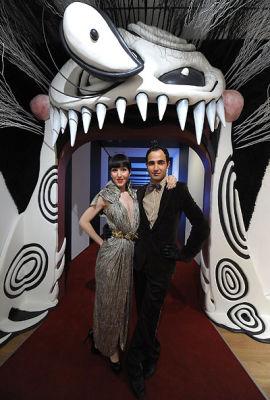 Michelle Harper and Zac Posen