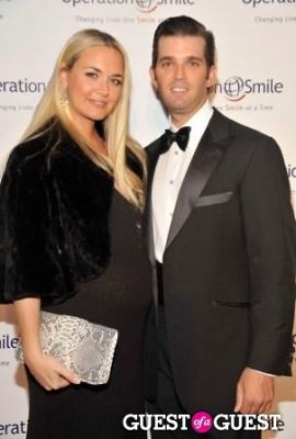 Vanessa Trump (L) and Donald Trump Jr.