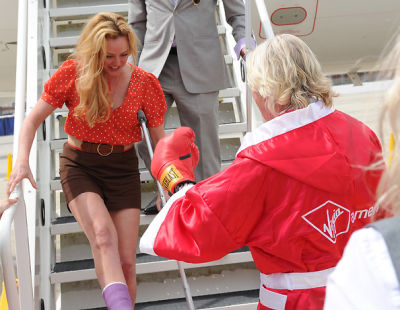 Virginia Madsen, Richard Branson