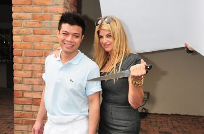 Chef Hung Huynh, Kirstie Alley