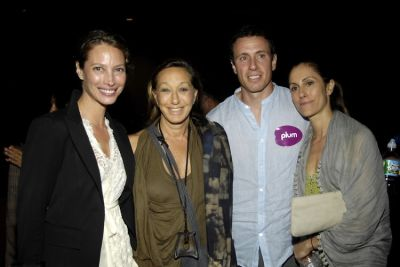 Christy Turlington, Donna Karen, Chris Cuomo, Cristina Cuomo