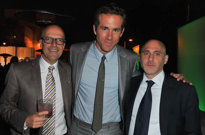 Donald De Line, Ryan Reynolds, Jeff Robinoff