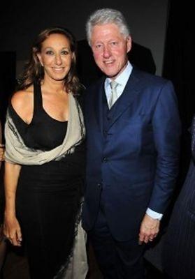 Donna Karan, Bill Clinton