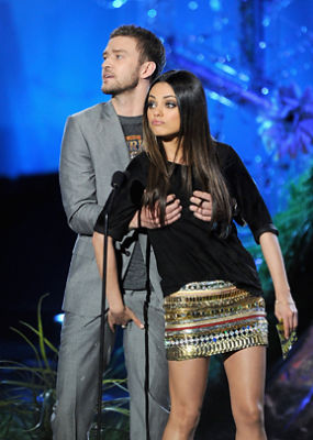 Justin Timberlake, Mila Kunis