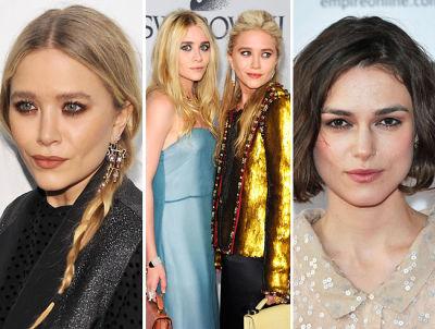 Mary Kate Olsen, Ashley Olsen, Keira Knightley