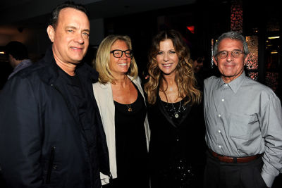 Tom Hanks, Kelly Meyer, Rita Wilson, Ron Meyer
